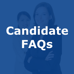 Candidate FAQs