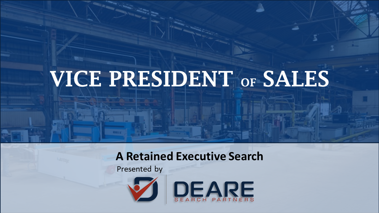 Vice President of Sales, Manufacturing in MN