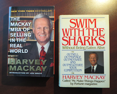 Minnesota sales professional and sales management guru Harvey Mackay