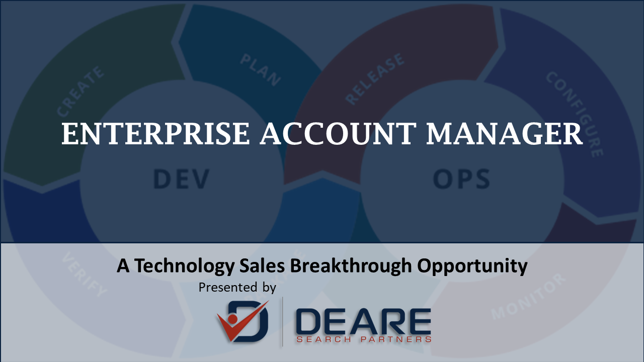 Enterprise Account Manager Sales and Client Relationship Role with a market dominant Minneapolis MN Information Technology IT Solutions Firm